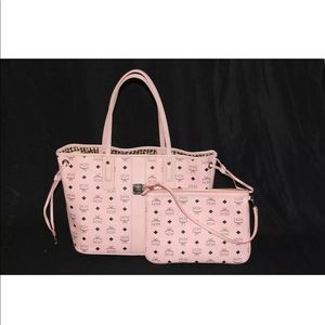 No offer! MCM Revisable medium tote with pouch